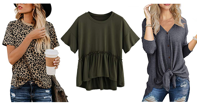 Amazon Fall Fashion Tops For Women
