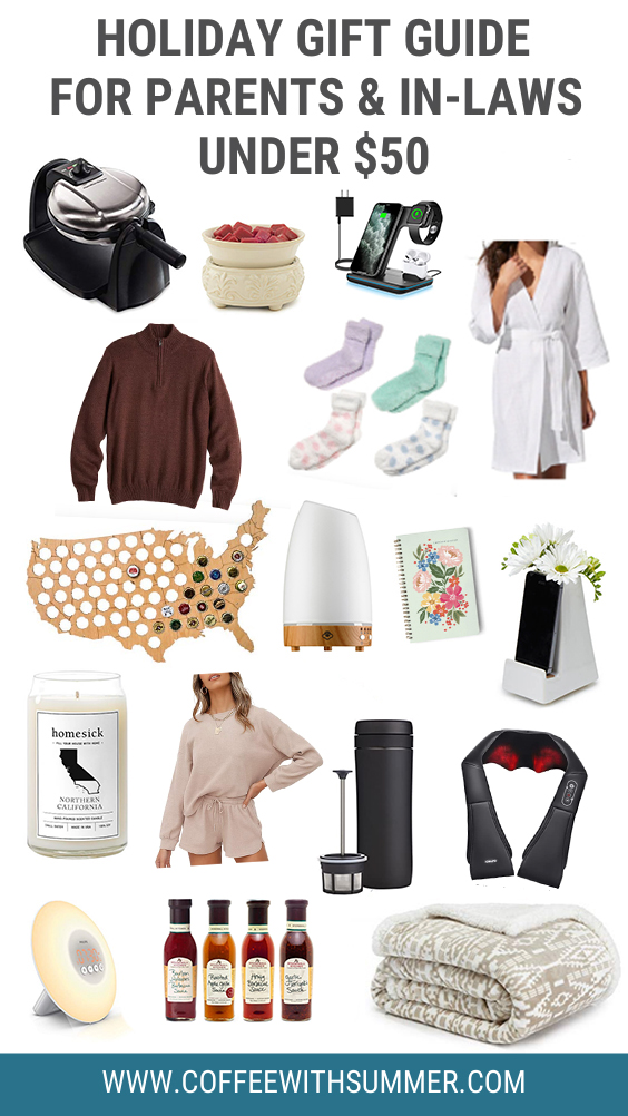 Gift Guide For Parents Under $50