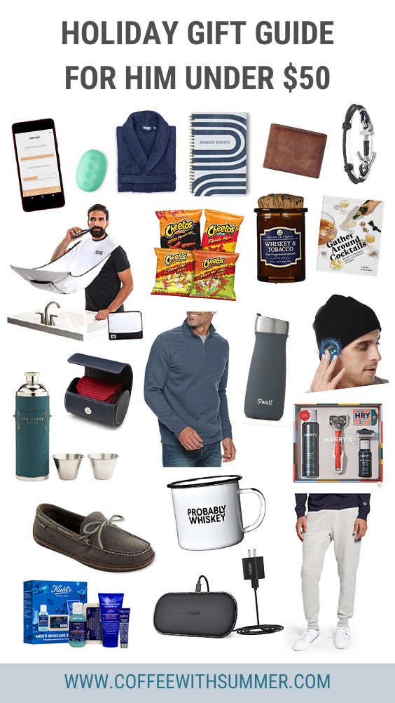 Gift Guide For Men Under 50 Coffee With Summer