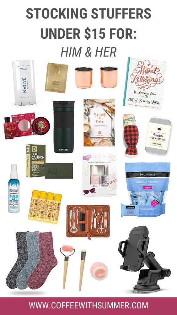 Stocking Stuffers For Him & Her Under $15