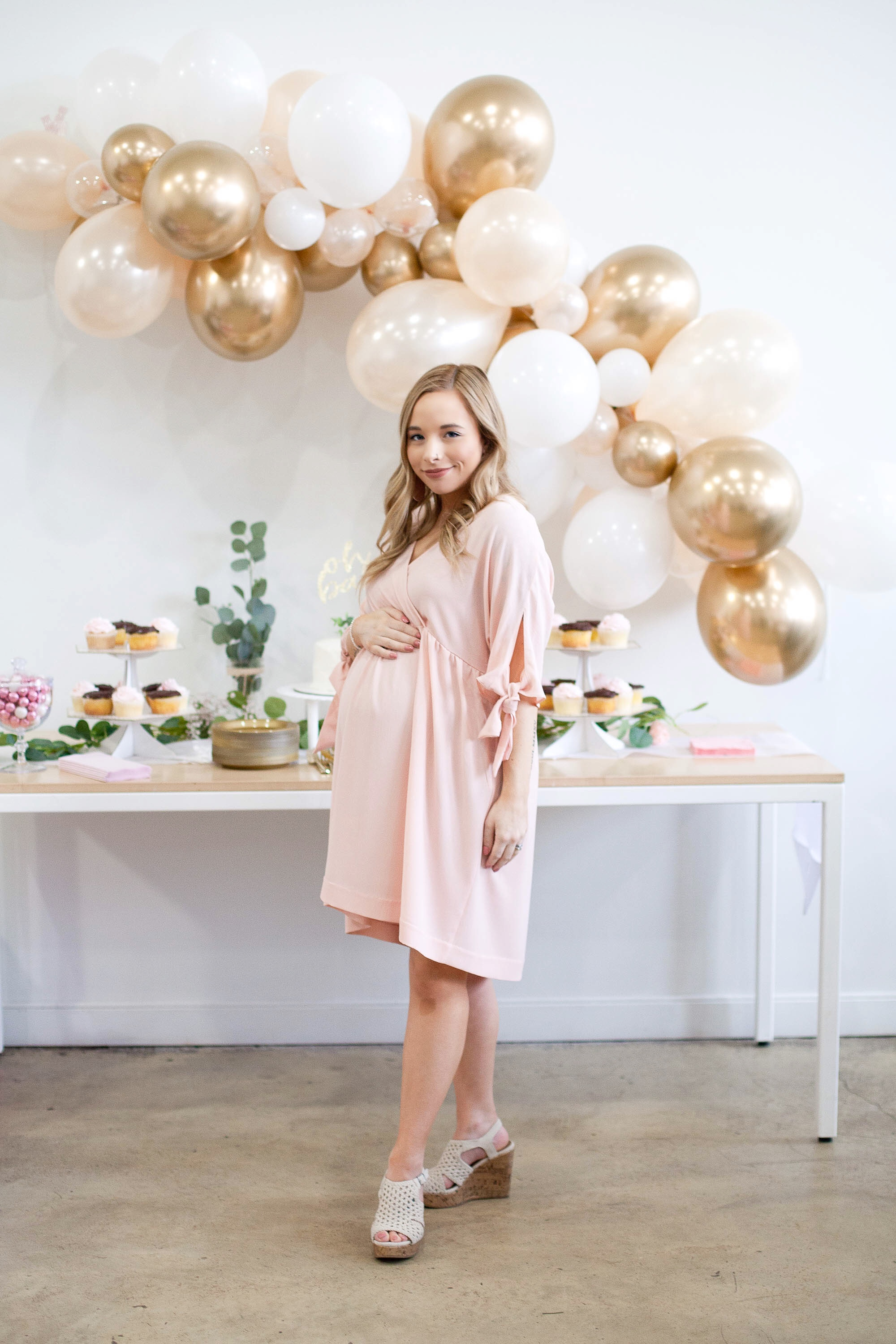 Pink Baby Shower Dress