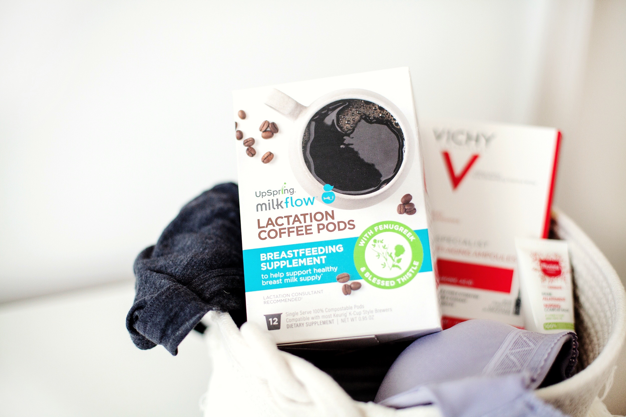 Milkflow Lactation Coffee Pods from UpSpring