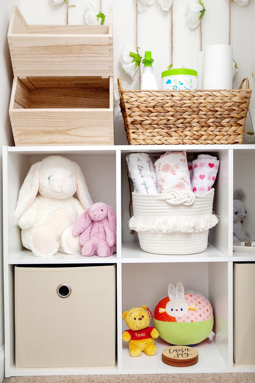 Girl Nursery Closet