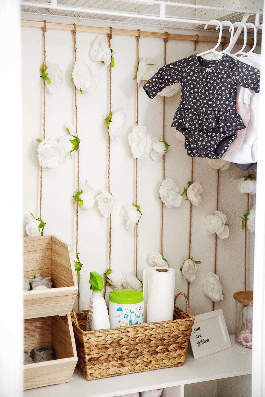 Nursery Closet Storage