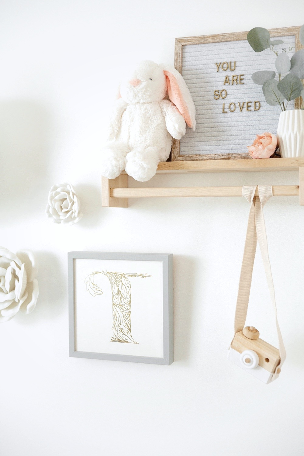 Boho Floral Nursery Decor