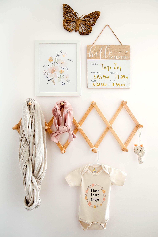 Taya's Boho Nursery