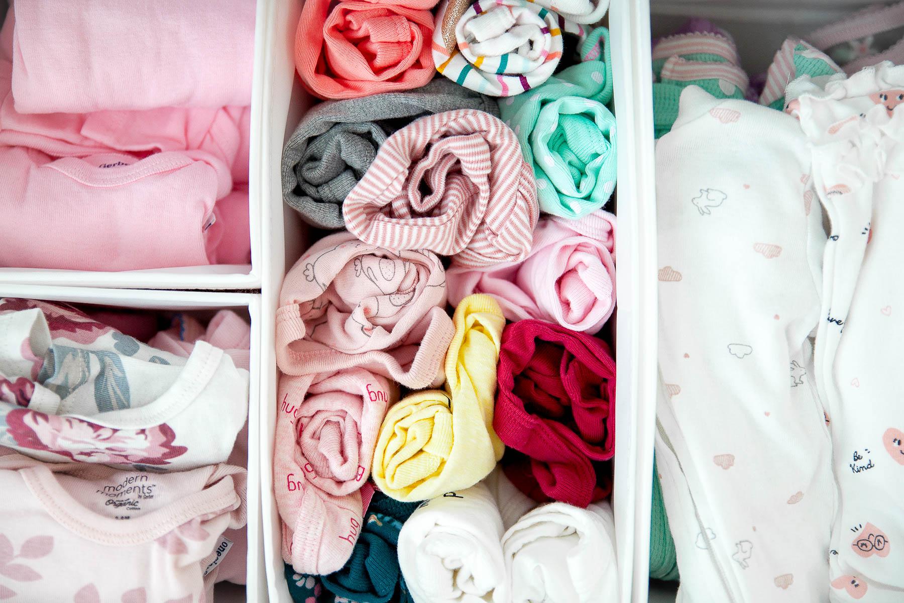 Baby Onesie Organization