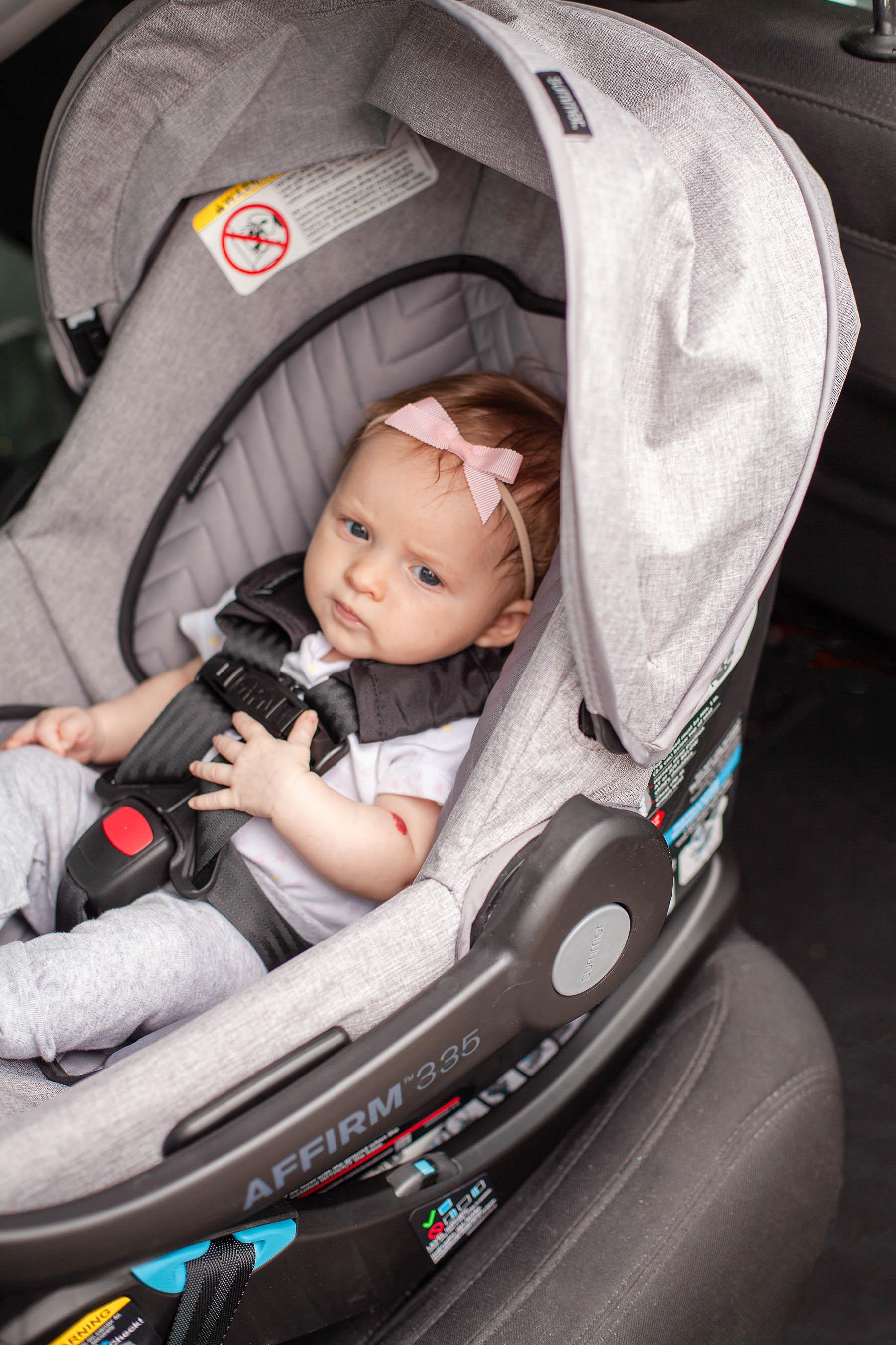 Summer Infant Affirm 335 Infant Car Seat