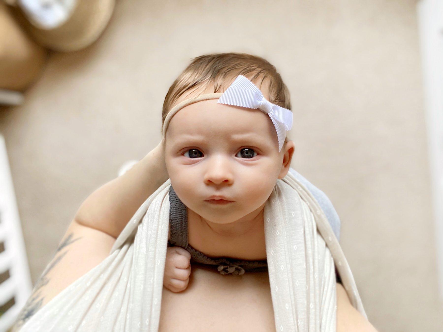 Solly Baby Wrap Oat Dot