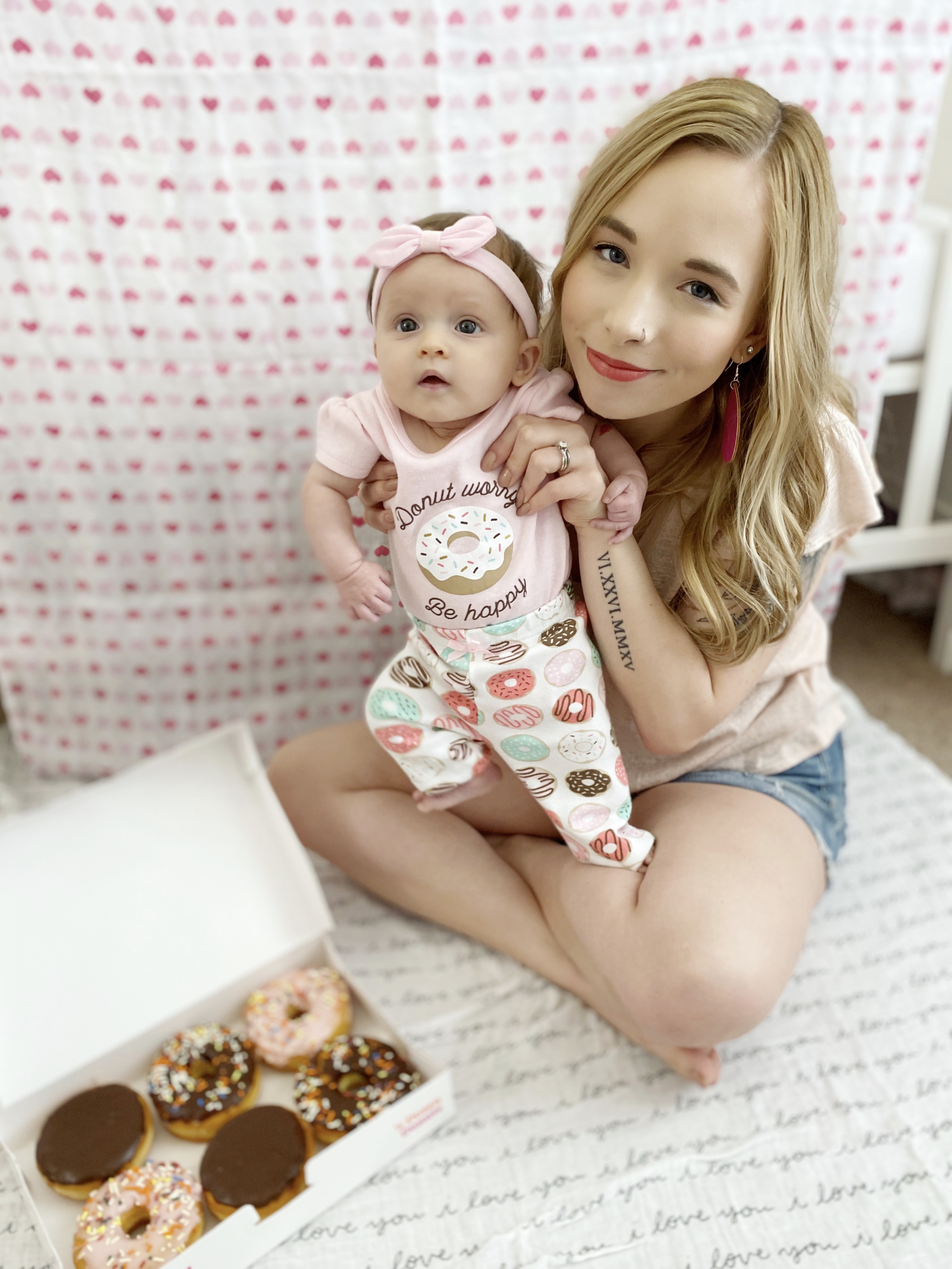 Donut Worry Be Happy Baby Outfit