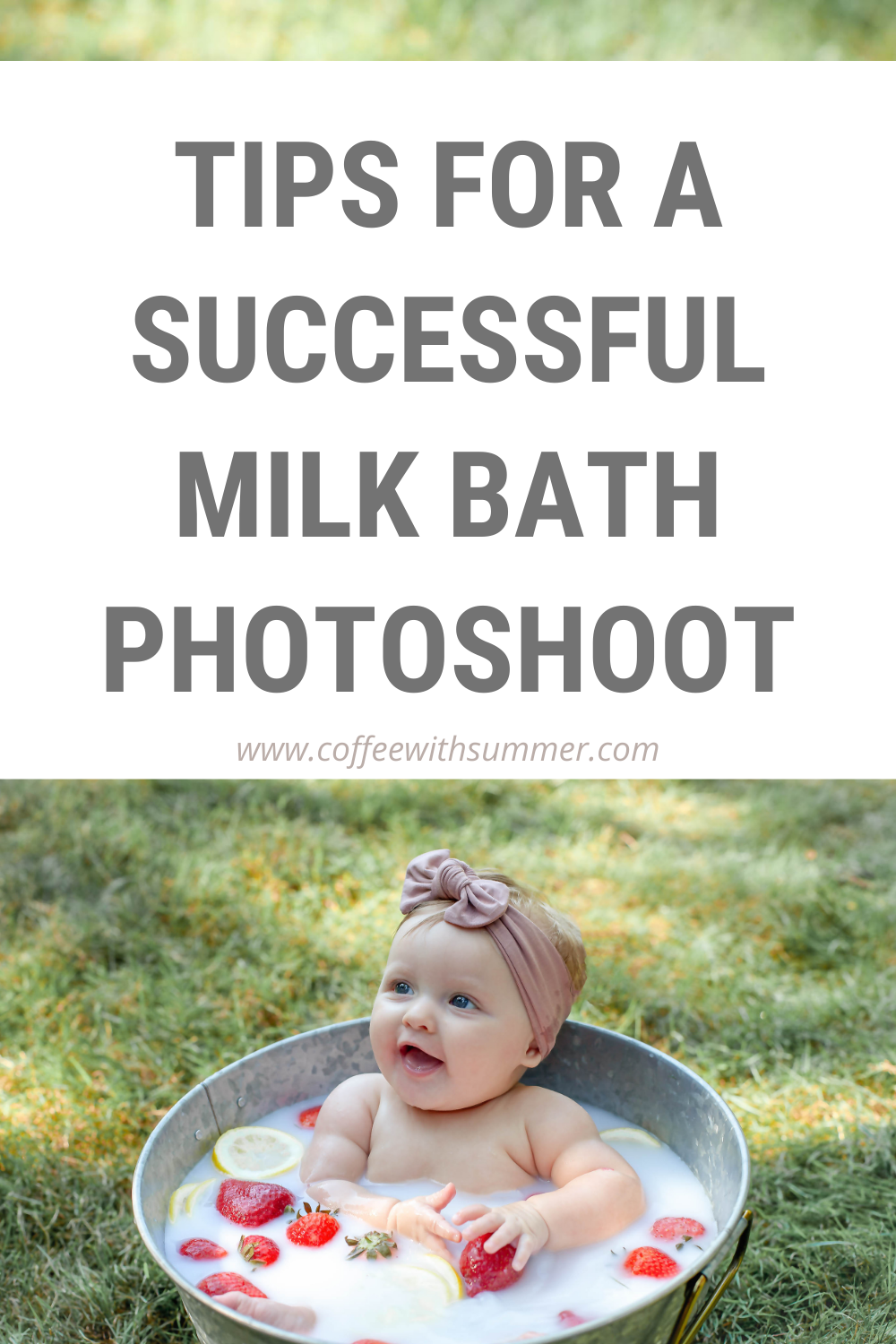 Tips For A Milk Bath Photoshoot