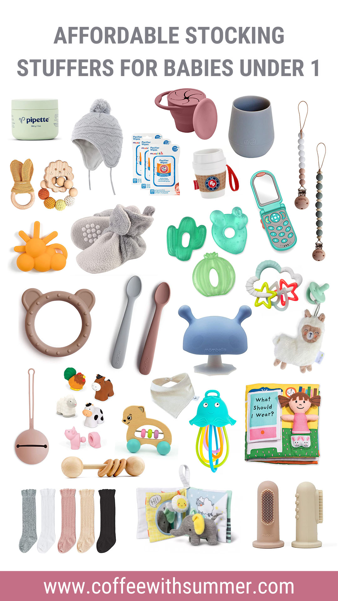 Affordable Stocking Stuffer Ideas For Babies Under 1