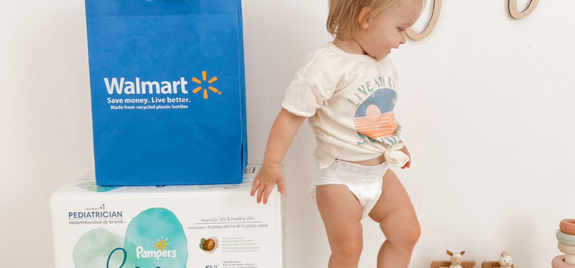 Why We Love Pampers Pure Diapers at Walmart